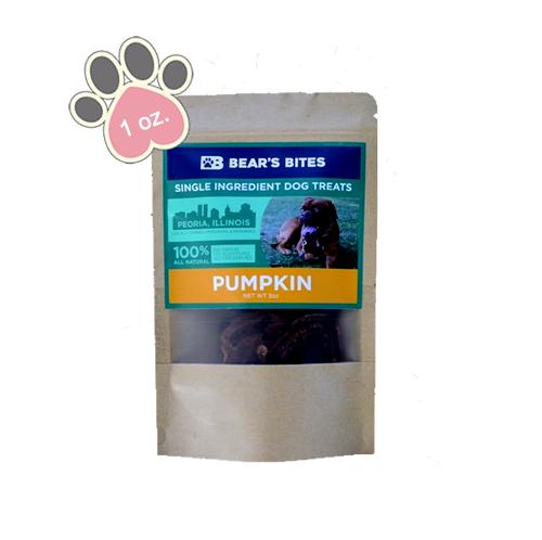 Bear's Bites - PumpkinTreats - 1 oz
