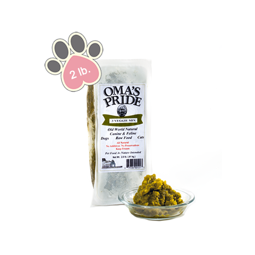 Omas Pride 3 Way Veggie Mix - 2 lb