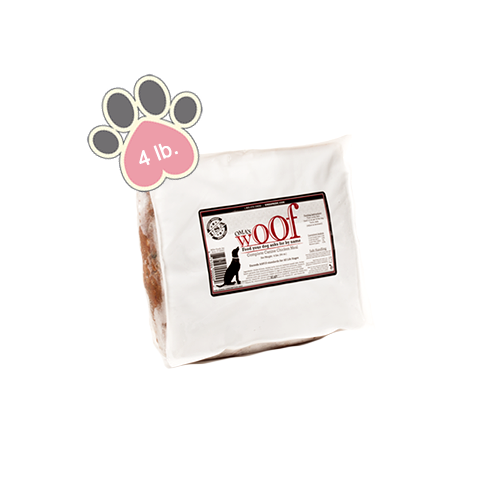 Oma's Pride WOOF Complete Canine Chicken Meal - 4lb