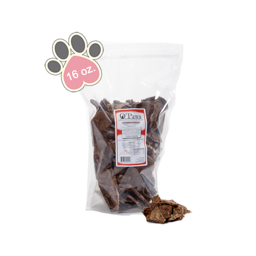 Opaws - Beef Lung chips 16oz
