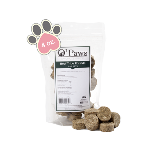 Opaws - Beef Tripe Rounds 4oz