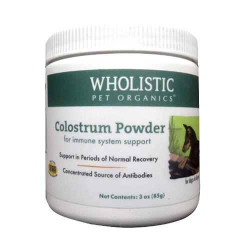 Wholistic Pet Organics - colostrum powder - 3oz