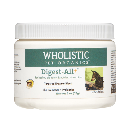 Wholistic Pet Organics - digest All - 2oz